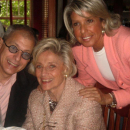 """Jack's Son, Mark, Wife """"Gertie"""" and Daughter, Diane Weiss."""