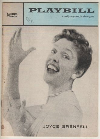 Joyce Phipps Grenfell Playbill