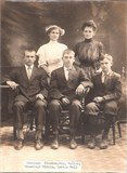 """First Cousin Twice Removed Aleta """"Lettie"""" Abbott family photo b. 1871 d. 1968"""