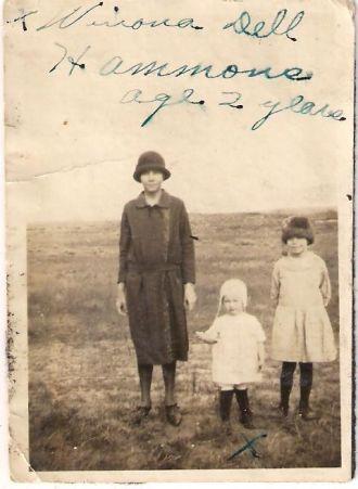 A photo of Winona Dell (Hammons) Maxwell