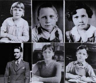 The Six Children of Nona (Brown) and Crockett Webb
