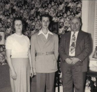 Harlan and his Parents