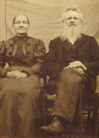Nils and Ellen Marie Busterud