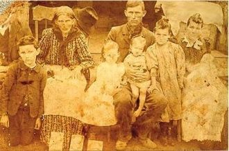 Ada West and Family