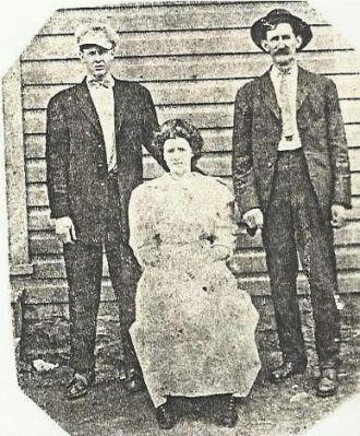 John, Mame, & William Harry/Harrison Bishop