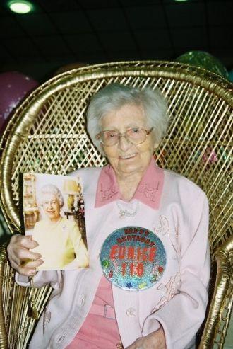 Eunice Bowman, age 110