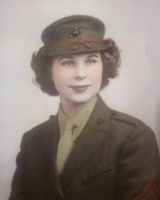 Irma K Mccammon, USMC