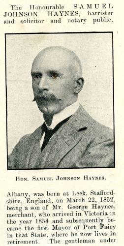 Samuel Johnson Haynes
