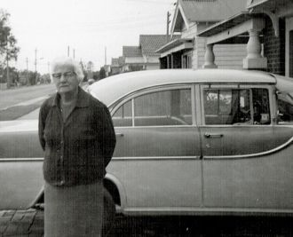Mum and My Old Holden
