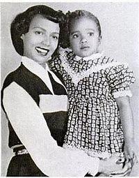 Dorothy Dandridge and Harolyn Suzanne Nicholas