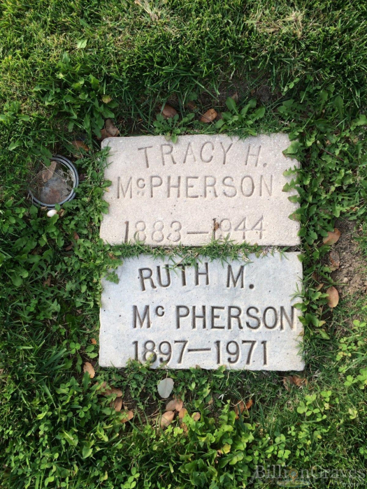 Tracy and Ruth McPherson Gravesite
