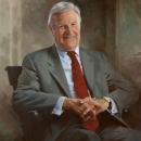 Preston Robert Tisch Painted Portrait