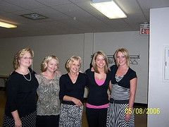 My sister's and mother at Papa's funeral