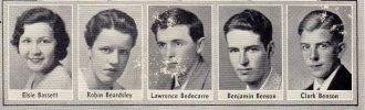 Elsie Bassett and More 1933 Seniors California