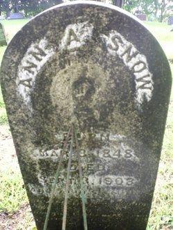 Ann A. Snow gravesite