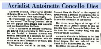 Antoinette Concello obituary