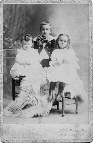Everett, Gordon, and Roxy Van Kleeck