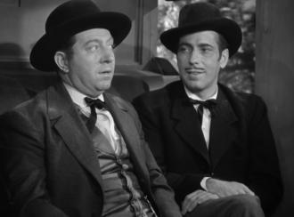 Frank McHugh, a famous character actor with Humphrey Bogart.