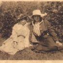 Josephine Fowler and Friend