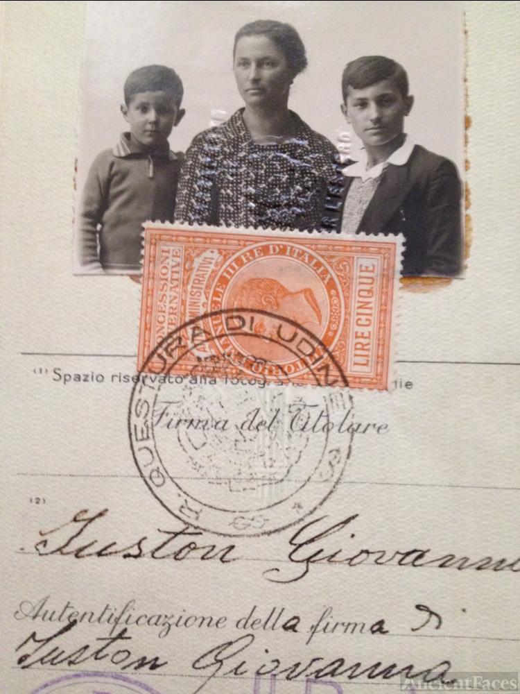 Giovanna Mion Family