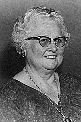A photo of Edith Steeples Whisman