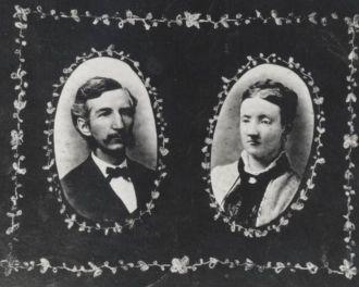 Charles Alonzo Ostrander and Althetta Tarissa Brown Ostrander