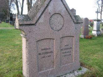 Thorvald & Anne Heyerdahl gravesite