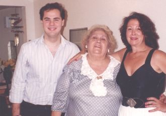 Jon, Carolyn, and Grace Gabriele Karlsen