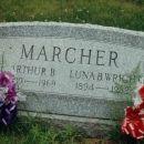 Luna and Arthur Marcher Gravesite