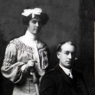 James Merrick Bradford & Ada Jane Nevers