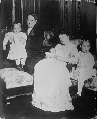 Mr. and Mrs. W.R. Hearst and their 3 children