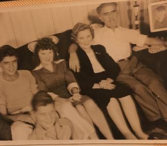 Wittman Family 1940s