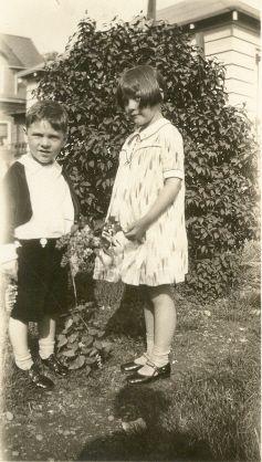 Lorraine and Sonny Lucas abt 1931