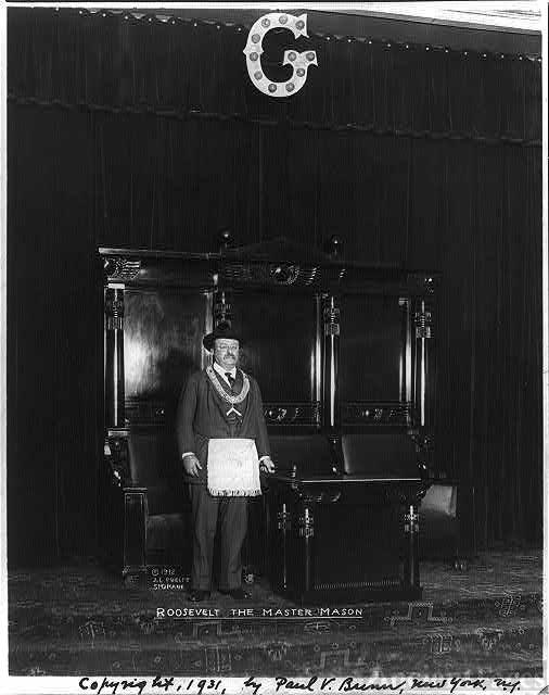 Theodore Roosevelt, the master mason