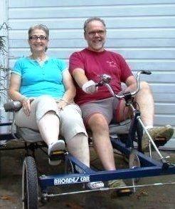 Lee K. Rosenzweig and wife Lonnadene.
