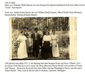 A photo of Ernest Asa Haynes