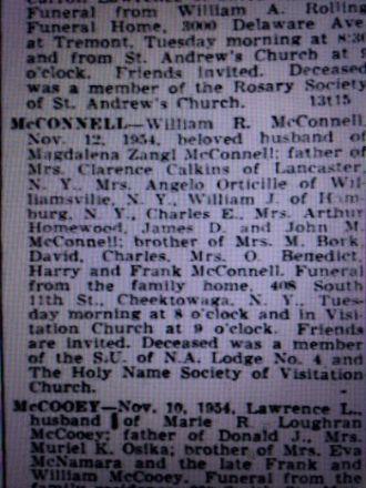William R McConnell obituary