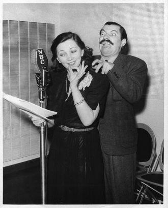 Patsy Kelly and Jerry Colonna