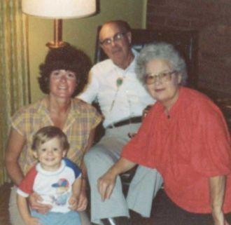 Floyd Allen Family - 3 generations