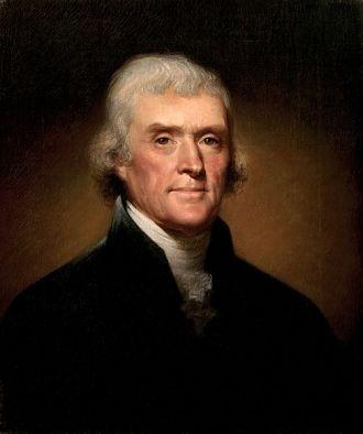 Thomas Jefferson, 1800