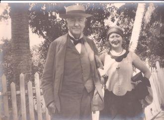 A photo of Thomas Alva Edison