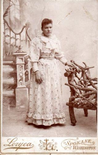 Unknown woman, Spokane Washington