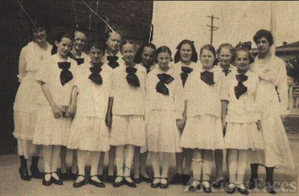 7th Grade Class Laffayette School