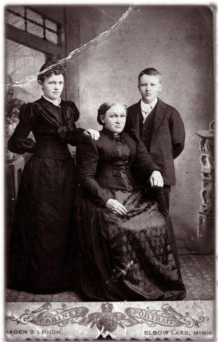 Gunhilda Caroline Mathilde Engelson family