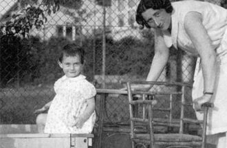 Anne and Edith Frank