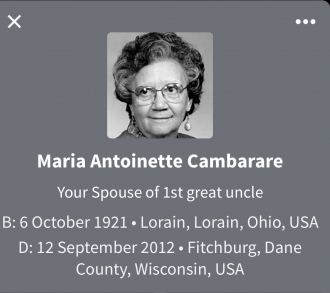 Maria Antoinette Cambarare