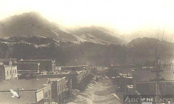 Cordova, Alaska 1918