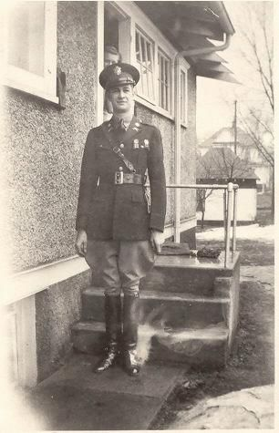 2nd Lt. William Glen Cornwell, 1937