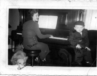My mother,Catherine (Thompson),Benson