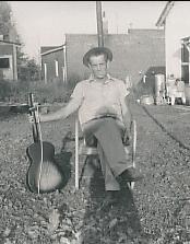 Grandpa and his guitar